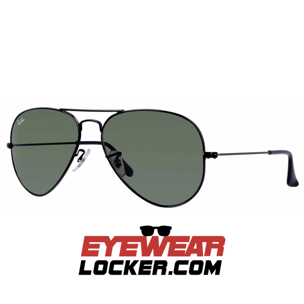 Ray Ban Aviador Rb3025 Negra G 15 Eyewearlocker