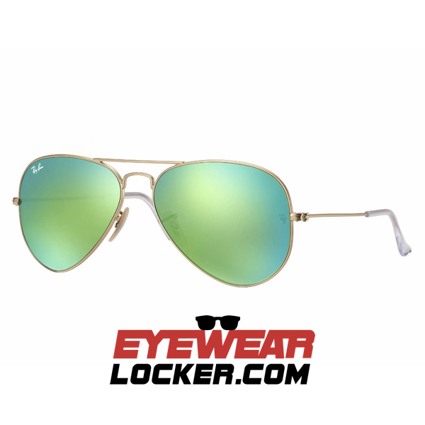 5247c8ecac Ray Ban Aviador RB3025 Verde Flash - EyewearLocker