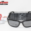Oakley Holbrook Polished Black Grey Polarizadas.081