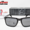 Oakley Holbrook Polished Black Grey Polarizadas.082