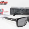 Oakley Holbrook Polished Black Grey Polarizadas.083