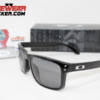 Oakley Holbrook Polished Black Grey Polarizadas.084