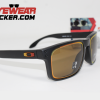 Holbrook Fire and Ice Collection Matte Black Prizm Bronze.026