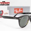 Gafas Ray Ban RB2185 Wayfarer II Clásica Havana Pulida Verde G-15 2 – Gafas Ray Ban Ecuador – EyewearLocker