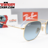 Gafas Ray Ban RB3548N Hexagonal Gold Azul Degradado 2 – Gafas Ray Ban Ecuador – EyewearLocker