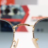 Gafas Ray Ban RB3548N Hexagonal Gold Azul Degradado 4 – Gafas Ray Ban Ecuador – EyewearLocker