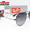 Gafas Ray Ban RB3558 Aviador Negro Pulido Negro Degradado Polarizadas 2 – Gafas Ray Ban Ecuador – EyewearLocker
