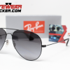Gafas Ray Ban RB3558 Aviador Negro Pulido Negro Degradado Polarizadas 3 – Gafas Ray Ban Ecuador – EyewearLocker