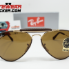 Gafas Ray Ban RB3575Q Outdoorsman Craft Matte Brown Cafe Clásico 1 – Gafas Ray Ban Ecuador – EyewearLocker