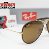 Gafas Ray Ban RB3575Q Outdoorsman Craft Matte Brown Cafe Clásico 2 – Gafas Ray Ban Ecuador – EyewearLocker