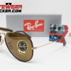 Gafas Ray Ban RB3575Q Outdoorsman Craft Matte Brown Cafe Clásico 3 – Gafas Ray Ban Ecuador – EyewearLocker