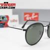 Gafas Ray Ban RB3575Q Round Craft Matte Black Verde G-15 2 – Gafas Ray Ban Ecuador – EyewearLocker