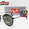 Gafas Ray Ban RB3575Q Round Craft Matte Black Verde G-15 3 – Gafas Ray Ban Ecuador – EyewearLocker