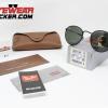 Gafas Ray Ban RB3575Q Round Craft Matte Black Verde G-15 – Gafas Ray Ban Ecuador – EyewearLocker