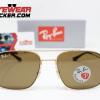 Gafas Ray Ban RB3595 Andrea Gold Cafe Polarizadas 1 – Gafas Ray Ban Ecuador – EyewearLocker