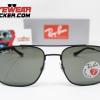 Gafas Ray Ban RB3595 Andrea Matte Black Verde G-15 Polarizadas 1 – Gafas Ray Ban Ecuador – EyewearLocker