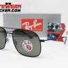 Gafas Ray Ban RB3595 Andrea Matte Black Verde G-15 Polarizadas 3 – Gafas Ray Ban Ecuador – EyewearLocker