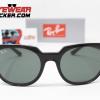 Gafas Ray Ban RB4368 Meteor Blaze Negro Pulido Verde G-15 1 – Gafas Ray Ban Ecuador – EyewearLocker