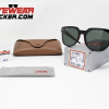 Gafas Ray Ban RB4368 Meteor Blaze Negro Pulido Verde G-15 – Gafas Ray Ban Ecuador – EyewearLocker