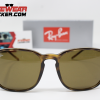 Gafas Ray Ban RB4387 Brown Cafe Clásico 1 – Gafas Ray Ban Ecuador – EyewearLocker