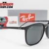 Gafas Ray Ban RB4387 Negro Pulido Verde G-15 2 – Gafas Ray Ban Ecuador – EyewearLocker