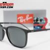 Gafas Ray Ban RB4387 Negro Pulido Verde G-15 3 – Gafas Ray Ban Ecuador – EyewearLocker