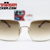 Gafas Ray Ban Square RB1971 Gold Cafe Degradado 2 – Gafas Ray Ban Ecuador – EyewearLocker