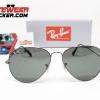 Gafas Ray Ban Aviador RB3025 Gunmetal Verde G-15 1 – Gafas Ray Ban Ecuador – Eyewearlocker