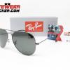 Gafas Ray Ban Aviador RB3025 Gunmetal Verde G-15 3 – Gafas Ray Ban Ecuador – Eyewearlocker