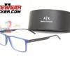 Armazones Armani Exchange AX3060 Matte Blue – Armazones Armani Exchange Ecuador Eyewearlocker3